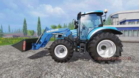 New Holland T6.160 SC para Farming Simulator 2015