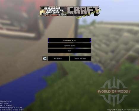Gta San Pack [64x][1.7.2] para Minecraft