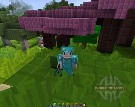 Bloque: Reborn [8х][1.8.1] para Minecraft