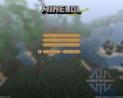 MineLoL Realistic [64x][1.8.1] para Minecraft