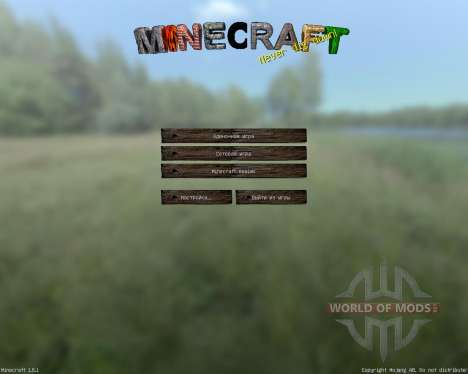 Ravands Realistic [128x][1.8.1] para Minecraft