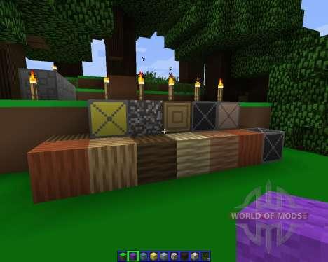 Simple.H [64x][1.7.2] para Minecraft