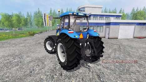 New Holland T8040 v4.1 para Farming Simulator 2015