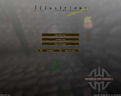 Illustrious [64x][1.8.1] para Minecraft