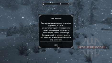 Freeze - la salvación en el campo [2.6] para Skyrim septima pantalla