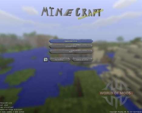 Cartoony [32x][1.7.2] para Minecraft