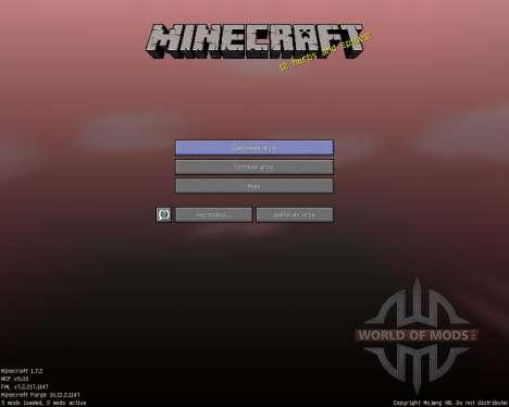 ShadowCraft [16x][1.7.2] para Minecraft