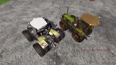 CLAAS Xerion 3800 Trac VC [clean and dirty] para Farming Simulator 2015