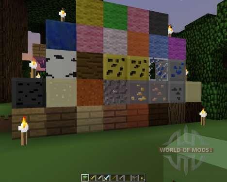 Pixel Pack [16x][1.7.2] para Minecraft
