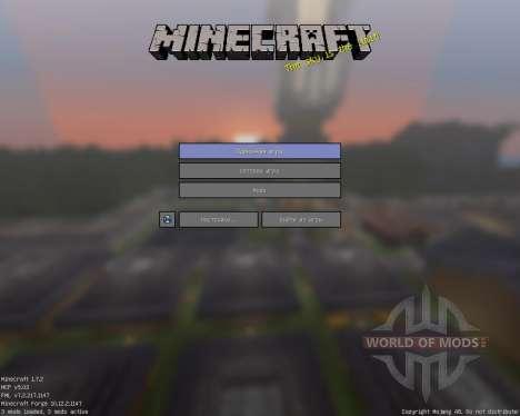 D_Flat [16x][1.7.2] para Minecraft