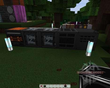 Norzeteus Espacio [128х][1.8.1] para Minecraft