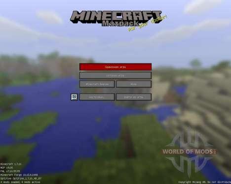 Maxpack Legacy [16x][1.7.10] para Minecraft