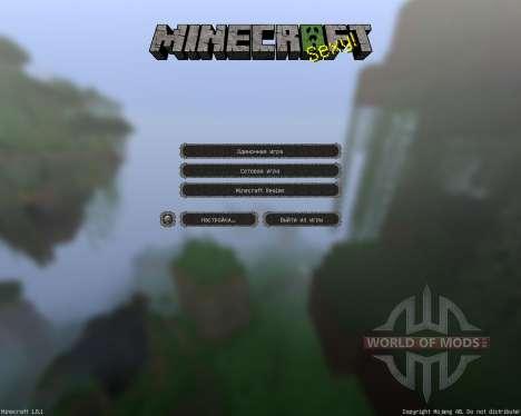 Ovos Rustic Redemption [64x][1.8.1] para Minecraft