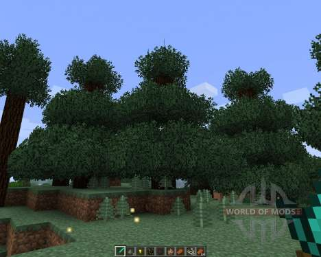 Better Foliage [1.7.2] para Minecraft