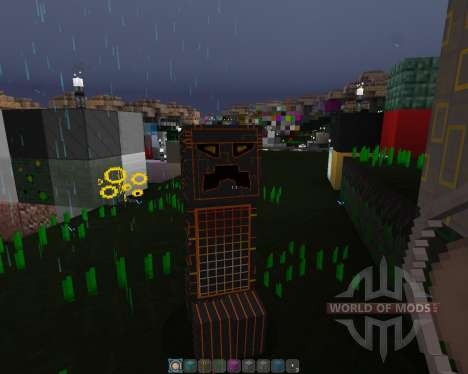 Cyber Óptica [32х][1.8.1] para Minecraft