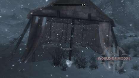 Freeze - la salvación en el campo [2.6] para Skyrim novena de pantalla