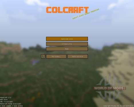 ColCraft [16x][1.7.2] para Minecraft