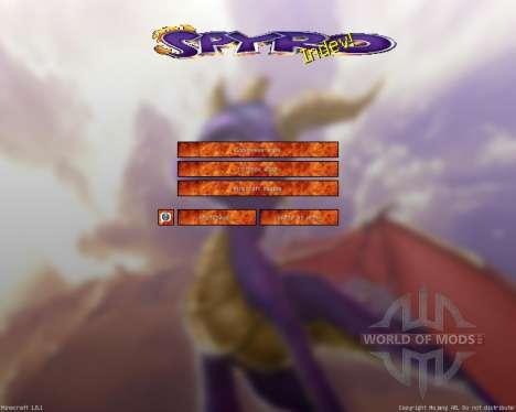 La Leyenda de Spyro [32х][1.8.1] para Minecraft