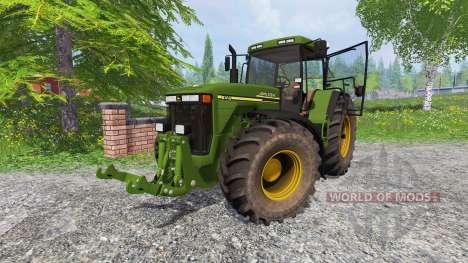 John Deere 8410 v1.2 para Farming Simulator 2015