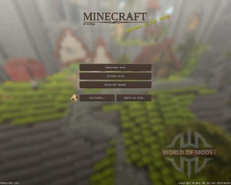 WillPack [32х][1.8.1] para Minecraft