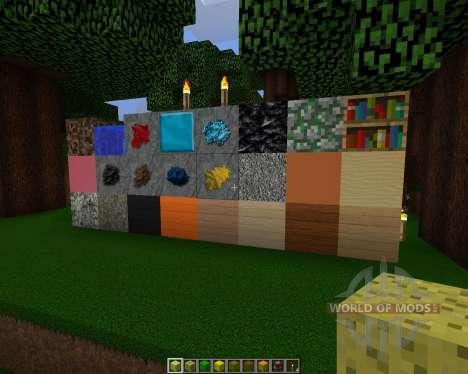 Detallado Realismo [128х][1.8.1] para Minecraft