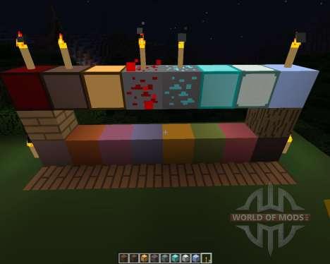 Más simple [16х][1.8.1] para Minecraft