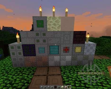Aarons Stitch Up [64x][1.8.1] para Minecraft