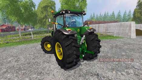 John Deere 7200R forest para Farming Simulator 2015