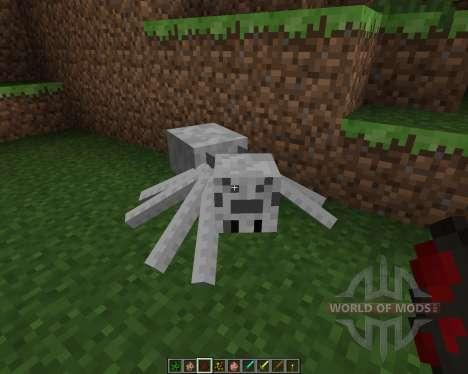 Skeletal Mobs [16x][1.7.2] para Minecraft