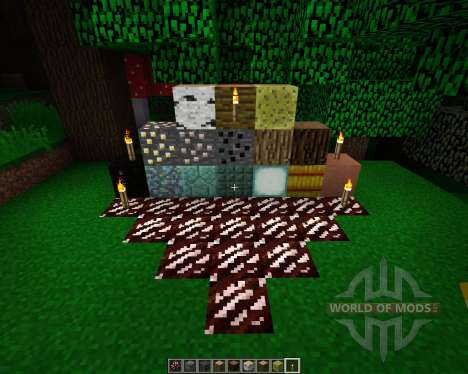 The Crafting Pack [16x][1.8.1] para Minecraft