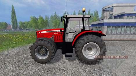 Massey Ferguson 6480 FL para Farming Simulator 2015