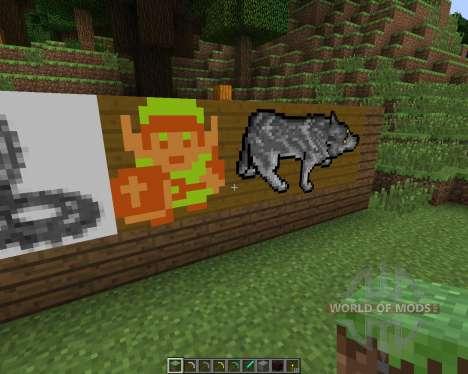 Animated Paintings [16x][1.7.2] para Minecraft