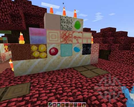 SugarPack [32x][1.7.2] para Minecraft