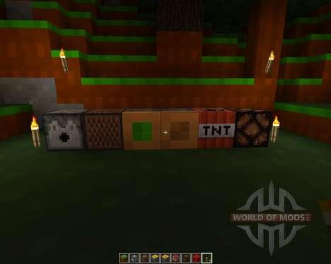 4 bit pack [8x][1.7.2] para Minecraft