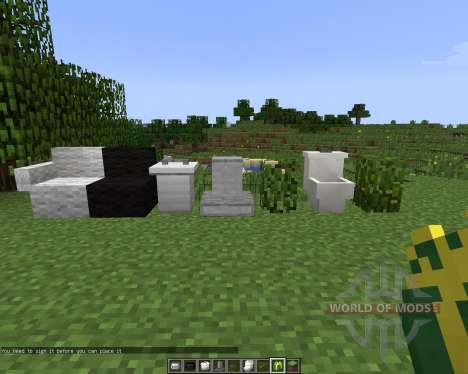 MrCrayfishs Furniture [1.7.2] para Minecraft