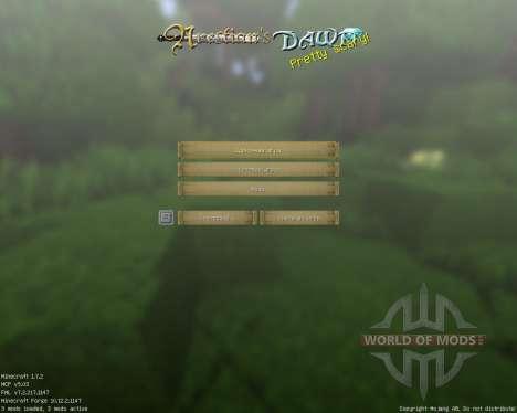 The Arestians Dawn [32x][1.7.2] para Minecraft