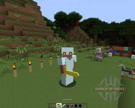 Sorogons Recursos Pack [16х][1.8.1] para Minecraft