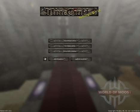 Cyberghostdes Scifantasy [128х][1.8.1] para Minecraft