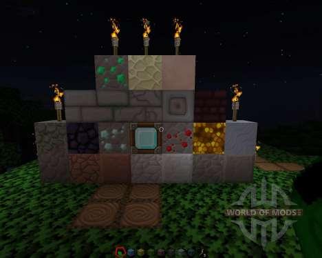 Sphax PureBDCraft [256х][64х][1.8.1] para Minecraft