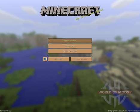 SimpleJCraft 3D [16x][1.8.1] para Minecraft