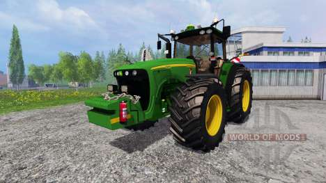 John Deere 8520 [plowing] para Farming Simulator 2015