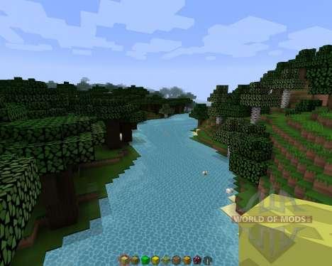 Simple sharp [128х][1.8.1] para Minecraft