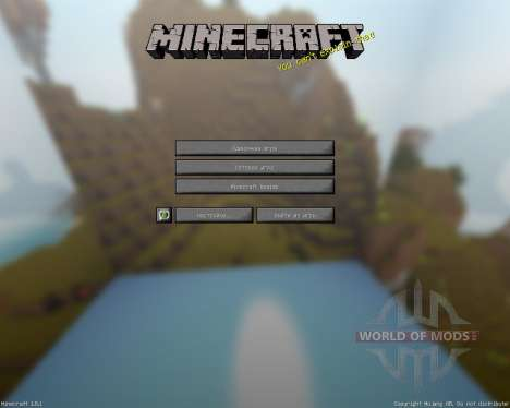 MauZi Realistic [16x][1.8.1] para Minecraft