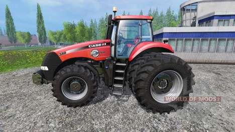 Case IH Magnum CVX 340 v1.0.3 [pack] para Farming Simulator 2015