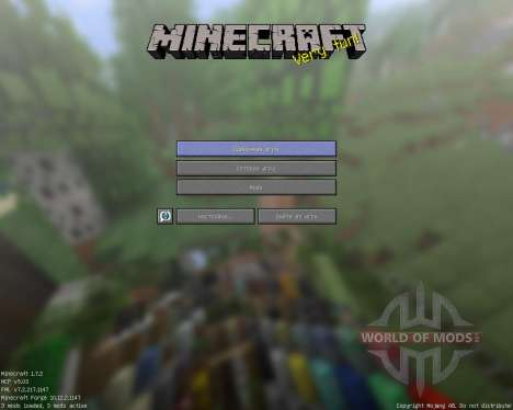 ShwingCraft [16x][1.7.2] para Minecraft