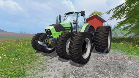 Deutz-Fahr Agrotron 7250 TTV v1.2 para Farming Simulator 2015