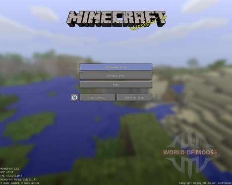 WormsMayhem [128x][1.7.2] para Minecraft
