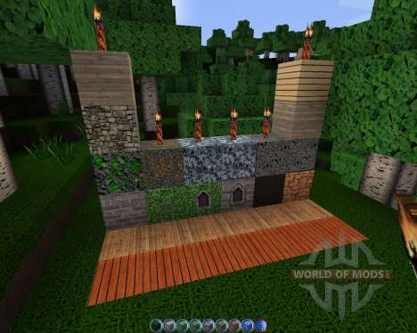 Intermacgod Realistic Medieval [128x][1.8.1] para Minecraft