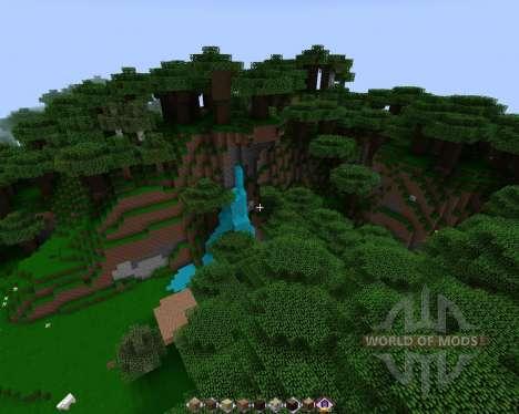 EXTRAÑA NAVE [128х][1.8.1] para Minecraft