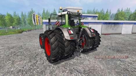 Fendt 936 Vario SCR fix v2.0 para Farming Simulator 2015